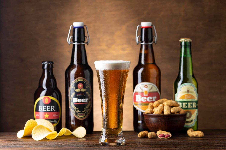 Hay muchas etiquetas originales para cerveza por las que se puede apostar